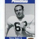 STEVE SUHEY 1992 Front Row Second Mile PENN STATE Nittany Lions STEELERS