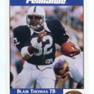 BLAIR THOMAS 1992 Front Row Second Mile PENN STATE Nittany Lions NEW YORK NY Jets