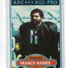 FRANCO HARRIS 1980 Topps #400 Steelers PENN STATE Nittany Lions B