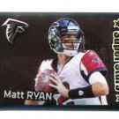MATT RYAN 2012 Panini Sticker FOIL #346 Falcons BOSTON COLLEGE QB