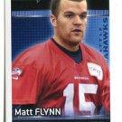 MATT FLYNN 2012 Panini Sticker #447 Seahawks LSU Tigers QB