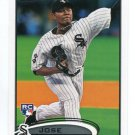 JOSE QUINTANA 2012 Topps Update Series #US257 ROOKIE Chicago White Sox
