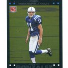 ANTHONY GONZALEZ 2007 Topps Chrome #TC206 ROOKIE Colts OHIO STATE Buckeyes
