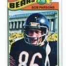 BOB PARSONS 1977 Topps #164 Penn State Nittany Lions BEARS