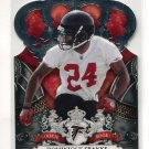 DOMINIQUE FRANKS 2010 Panini Crown Royale #131 ROOKIE Falcons OKLAHOMA Sooners