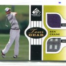 NANCY LOPEZ 2012 SP Game Used Edition #TG-BC DUAL SHIRT 4-color Relic