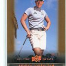 ANNIKA SORENSTAM 2012 Upper Deck UD All Time Great Sports #30 LPGA Sweden #d/65