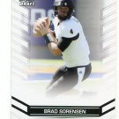 BRAD SORENSEN 2013 Leaf Draft #7 ROOKIE Southern Utah CHARGERS QB