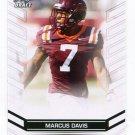 MARCUS DAVIS 2013 Leaf Draft #45 ROOKIE Virginia Tech Hokies WR Quantity