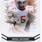 MIGUEL MAYSONET 2013 Leaf Draft #51 ROOKIE Stoney Brook RB Quantity
