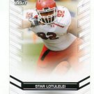 STAR LOTULELEI 2013 Leaf Draft #65 ROOKIE Utah Utes CAROLINA Panthers DT Quantity
