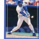 BO JACKSON 1988 Score #180 Royals AUBURN Tigers