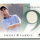 PW) RORY SABBATINI 2005 SP Game-Used Edition GOLF JERSEY SHIRT #F9S-RS
