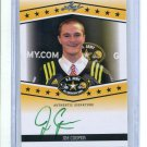 JIM COOPER 2013 Leaf Army All-American TOUR AUTO Temple Owls KICKER #d/25