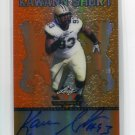 KAWANN SHORT 2013 Leaf Valiant RED AUTO #BA-KS1 ROOKIE Purdue Boilermakers CAROLINA Panthers #/50