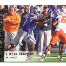CHRIS HARPER 2013 Upper Deck UD Star Rookie #77 Kansas State Wildcats SEAHAWKS