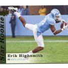 ERIK HIGHSMITH 2013 Upper Deck UD Star Rookie #83 North Carolina UNC QUANTITY