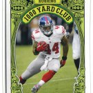 AHMAD BRADSHAW 2013 Topps Heritage 1,000 Yard Club INSERT #3 New York NY Giants MARSHALL