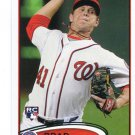 BRAD PEACOCK 2012 Topps #275 ROOKIE Angels