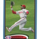 DOMONIC DOMINIC BROWN 2012 Topps BLUE SP #98 Philadelphia Phillies