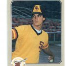 DAVE DRAVECKY 1983 Fleer #356 ROOKIE Padres
