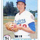 CHARLIE HOUGH 1979 Topps #508 Dodgers