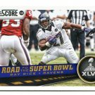 RAY RICE 2013 Score Road to the Super Bowl #257 Ravens RUTGERS