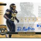 DAMIEN ROBINSON 2010 Razor Army All-American AUTO Mississippi MISS STATE Bulldogs OL