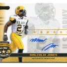 MALCOLM JONES 2010 Razor Army All-American AUTO UCLA Bruins RB
