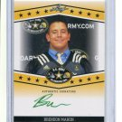 BRENDON MAHON 2013 Leaf Army All-American TOUR AUTO Penn State Nittany Lions OG #d/25
