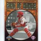 CARLOS RUIZ 2009 Topps Ring of Honor #RH51 INSERT Philadelphia Phillies