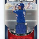 MIKE MOUSTAKAS 2011 Topps Pro Debut JERSEY #MM-MM ROOKIE Kansas City KC Royals