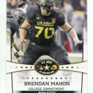 BRENDON MAHON 2013 Leaf Army All-American #10 Penn State Nittany Lions OG