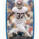 ROBERT LESTER 2013 Bowman #209 Carolina Panthers ALABAMA Crimson Tide