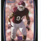 DAMONTRE MOORE 2013 Bowman BLACK SP #174 ROOKIE NY Giants TEXAS A&M Aggies