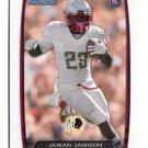 JAWAN JAMISON 2013 Bowman #216 ROOKIE Redskins RUTGERS