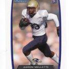 AARON MALLETTE 2013 Bowman #195 ROOKIE Baltimore Ravens WR Quantity QTY
