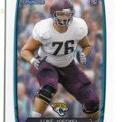 LUKE JOECKEL 2013 Bowman #125 ROOKIE Jaguars TEXAS A&M Aggies Quantity QTY