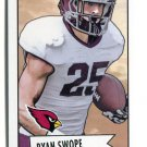 RYAN SWOPE 2013 Bowman 1952 Mini ROOKIE INSERT Cardinals TEXAS A&M Aggies WR