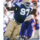BRYANT YOUNG 2013 Upper Deck UD Collectible #64 Notre Dame Irish 49ers DT