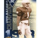 TODD LYGHT 2013 Upper Deck UD Collectible #NC-TL INSERT Notre Dame Irish RAMS RB