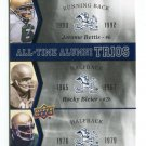 JEROME BETTIS / ROCKY BLEIER / FERGUSON 2013 Upper Deck All-Time Alumni Trios INSERT Notre Dame