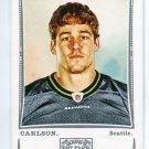 JOHN CARLSON 2009 Topps Mayo SILVER SP #129 Seahawks NORTE DAME Irish