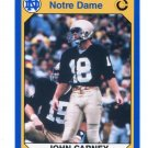 JOHN CARNEY 1990 Notre Dame Collegiate Collection #29 PANTHERS Notre Dame Irish KICKER