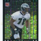 VICTOR ABIAMIRI 2007 Topps Chrome XFRACTOR #TC237 Notre Dame Irish EAGLES