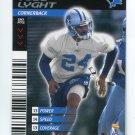 TODD LYGHT 2001 NFL Showdown #139 Notre Dame Irish DETROIT Lions