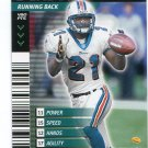 AUTRY DENSON 2001 NFL Showdown #14 Notre Dame Irish DOLPHINS