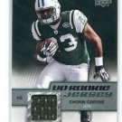 SHONN GREENE 2009 Upper Deck UD #RJ-SG ROOKIE New York NY Jets IOWA Hawkeyes