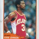 EDDIE JOHNSON 1981-82 Topps #68 Auburn Tigers HAWKS