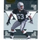 THOMAS HOWARD 2006 Leaf Limited New Generation #191 ROOKIE Raiders #d/1000